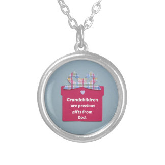 Grandchildren are Precious Gifts from God Necklace