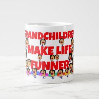Grandchildren Expressions Jumbo Mugs