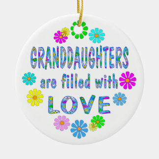 Granddaughter Christmas Ornament