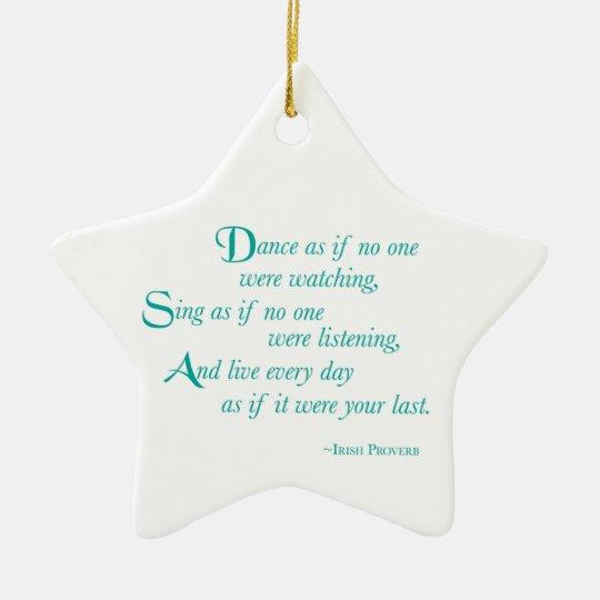 Granddaughter, Graduation Dance, Star Ornament