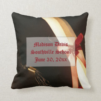 Granddaughter Graduation Wishes, Square Pillow