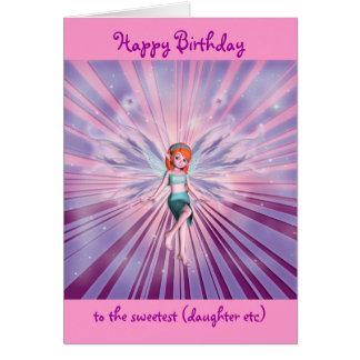 Granddaughter happy birthday customizable card
