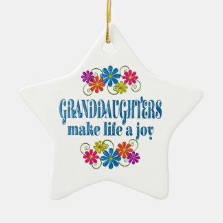 Granddaughter Joy Christmas Ornament