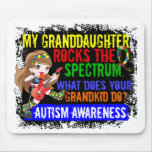 Granddaughter Rocks The Spectrum Autism Mouse Pads