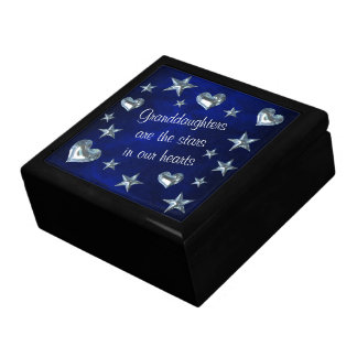 Granddaughter Star and Heart Gift Box