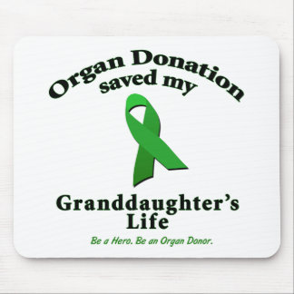 Granddaughter Transplant Mouse Pad
