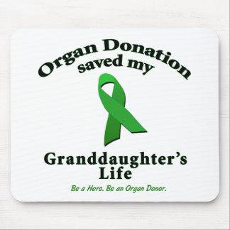 Granddaughter Transplant Mouse Pads