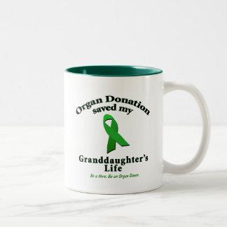 Granddaughter Transplant Coffee Mug