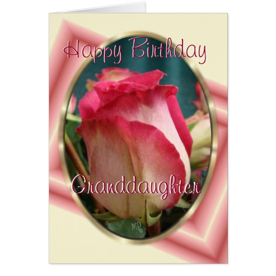 GranddaughterBday-customise any occasion Card