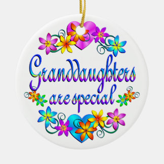 Granddaughters are Special Christmas Ornament