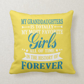 Granddaughters Forever Cushion