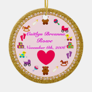 Granddaughter's Personalized Christmas Ornament