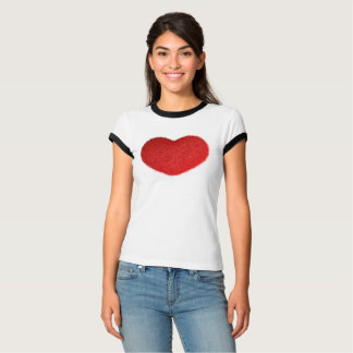 Grande Cuore Rosso. T-Shirt