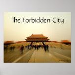 Grandeur of the Forbidden City Poster