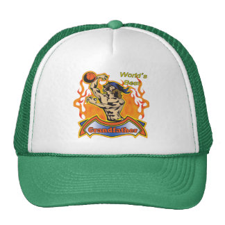Grandfather Basketball Father's Day Gifts Trucker Hats