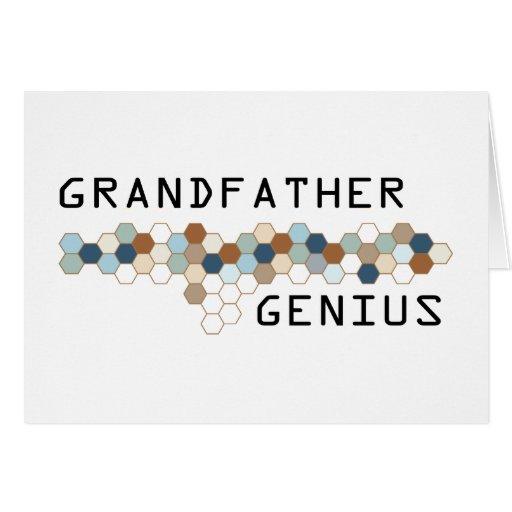 Grandfather Genius Card
