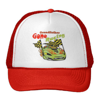 Grandfather Gone Racing Gifts Cap