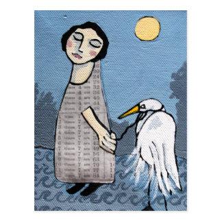 Grandfather Heron Postcard