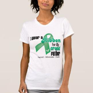 Grandfather - Liver Cancer Ribbon Shirts