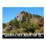 Grandfather Mountain NC Postcard