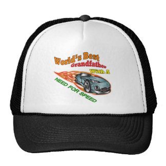 Grandfather Need For Speed Father's Day Gifts Cap