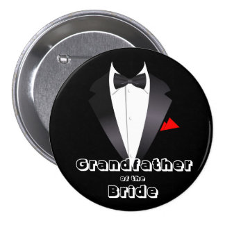 Grandfather of the Bride - Button