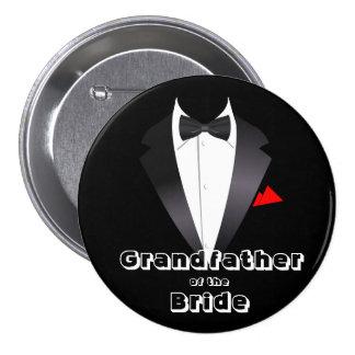 Grandfather of the Bride - Button
