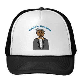 Grandfather of the Bride (Ethnic) Trucker Hats
