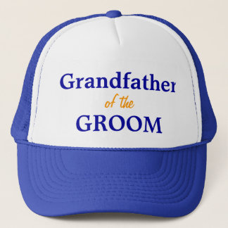Grandfather of the Groom cap