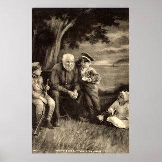 Grandfather Tells War Stories Vintage 1918 Posters