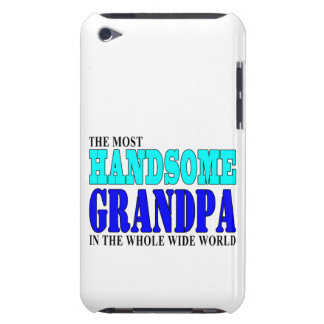 Grandfathers Birthdays Parties : Handsome Grandpa iPod Touch Cases