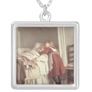 Grandfather's Little Nurse Silver Plated Necklace