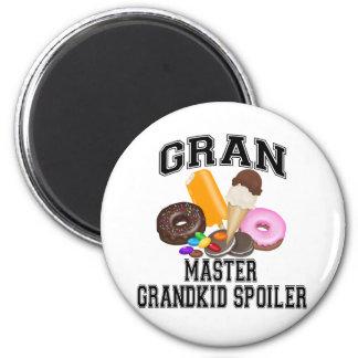 Grandkid Spoiler Gran Fridge Magnets
