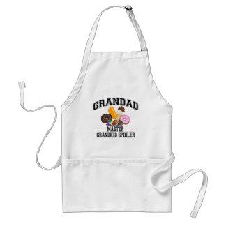 Grandkid Spoiler Grandad Aprons