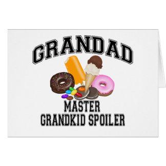 Grandkid Spoiler Grandad Card