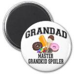 Grandkid Spoiler Grandad Magnet