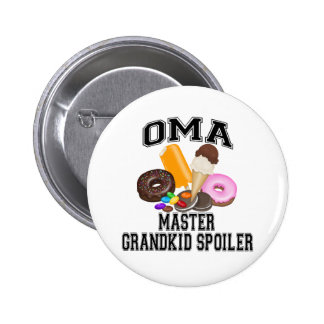 Grandkid Spoiler Oma 6 Cm Round Badge