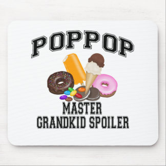 Grandkid Spoiler PopPop Mouse Pad
