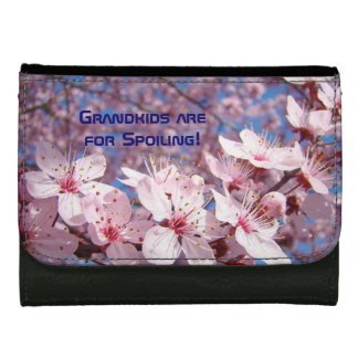Grandkids are for Spoiling! wallet Grandma Blossom