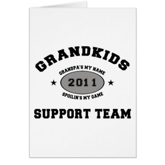 Grandkids Greeting Card