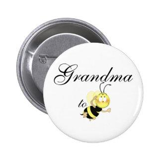 Grandma 2 be pinback button