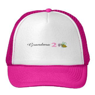 Grandma 2 Bee Mesh Hats