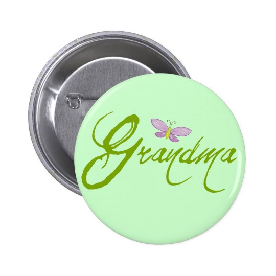 Grandma 6 Cm Round Badge