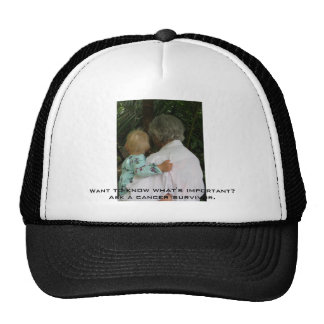 Grandma and baby Want to know what s important Mesh Hats