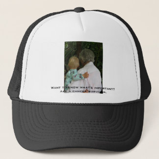 Grandma and baby, Want to know what's important... Cap