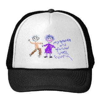 Grandma and Grandad Smell Funny Trucker Hats