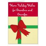 Grandma and Grandpa Christmas... Greeting Card