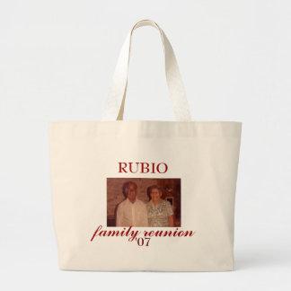 Grandma and grandpa rubio, RUBIO , family reuni... Large Tote Bag