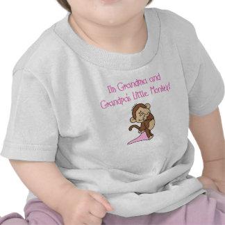 Grandma and Grandpas Little Monkey Tee Shirts