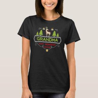 Grandma Anti Reindeer league T-Shirt
